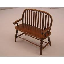 Dollhouse furniture 1 12 scale Diy Bench Colonial Windsor T6845 Miniature Wooden Dollhouse Furniture 112 Scale Amazoncom Bench Colonial Windsor T6845 Miniature Wooden Dollhouse Furniture