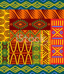 Abstract Patterns Unique Ethnic African Abstract Patterns Stock Vector FreeImages