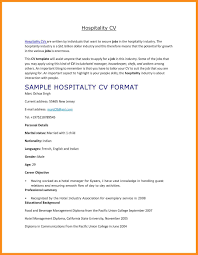Sample Hotel Resume Sample Resume For Hospitality Students Best Hospitality Resume 54