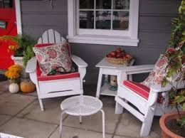 Porch Design Ideas A Small Seating Area Might Be Exactly What You Need If There Isnt A