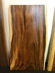 live edge acacia wood slab table top 48