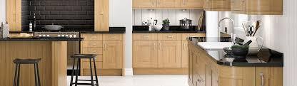 luxury shaker oak kitchen units