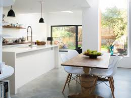 Polished Concrete Kitchen Floor Kitchen With Wooden Floors Polished Concrete Floors Problems