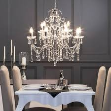 crystal dining table attractive dining room crystal chandeliers chandelier for adorable vintage table lamp french formal crystal dining