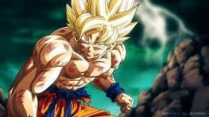 Super Saiyan Son Goku Dragon Ball Z 4k ...