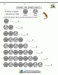 Money Math Worksheets Riddles First Grade 2 ~ Koogra