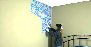 geometric design wall geometric wall design painters tape designs ideas best home design cool wall with