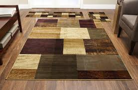 home interior soar 3 piece area rug set modern or traditional rugs ter throw carpet