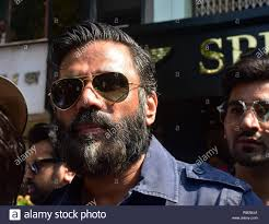 Designer Glasses Boutique Discount Actor Suniel Shetty Seen During The Launch Of Specta