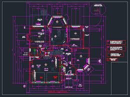 autocad house plans dwg