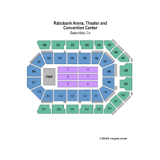 Seating Chart Rabobank Arena Bakersfield Mechanics Bank Arena Events And Concerts In Bakersfield