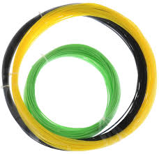 <b>ESUN</b> 3D Filament, Black Yellow Light Green <b>комплект ABS</b> ...