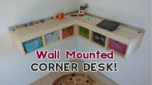 diy floating desk diy home. DIY Wall Mounted Stand Up Desk! YouTube Photo Details - These Gallerie We Give A Diy Floating Desk Home E