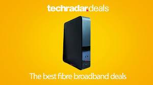 the best fibre broadband deals in