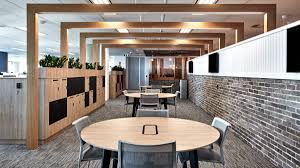 workspace office. The Workspaces Were Quite Closed Off And Insular. Having Received Feedback From Staff, Networking Giant Wanted To Make Sure New Office Would Be Much Workspace