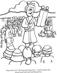 Small Picture BIBLE COLORING PAGES King Josiah Cut the Ropes of Sin Lesson