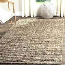 wool and jute rug jute rug casual natural fiber hand woven natural grey chunky thick jute