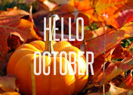 pumpkin october hello image quote