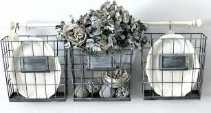 how to use wire baskets and organize
