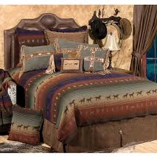 cowboy comforter sets intended for mustang canyon deluxe bed set full plan architecture cowboy