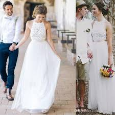 discount 2017 cheap simple wedding dresses a line western bridal