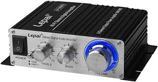 Lepai LP-2020TI <b>Digital</b> Hi-Fi <b>Audio</b> Mini Class D <b>Stereo Amplifier</b>