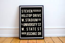 Indiana College Graduation Gift Boilermakers College Dorm Decor Graduation Gift Dorm Room Grad Gift