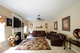 Large Living Room Furniture Layout Living Room Decorating A Large Wall In Luxury With Black Furniture