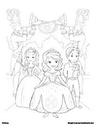 Sofia Coloring Pages The First Coloring Coloring Pages For Kids Free