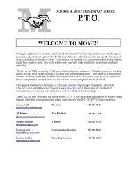 Volunteer Sign Up Form Moye Pto