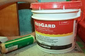 waterproofing membrane redgard view