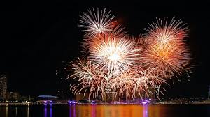 fireworks background hd. Perfect Background New Years Wallpaper Fireworks In Background Hd 2