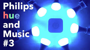 Hue Light To Music Philips Hue And Music 3 Lights And Music App