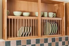 solid wood oak plate rack 1200mm x 342mm painted light blue wooden kitchen plate rack cabinet