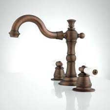 oil rubbed bronze bathroom faucet widespread bathroom faucet small porcelain lever handles oil rubbed bronze side
