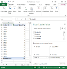 Building Charts In Excel 2013 Ms Excel 2013 How To Create A Pivot Table