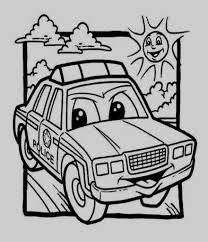 Cars Coloring Pages Police Car Coloring Pages Awesome Car Printable