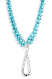 Simon Sebbag Designs Simon Sebbag Stone Bead Convertible Pendant Necklace Nordstrom
