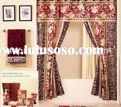 shower curtain with valance sets amusing swag shower curtains with valance 12 for your interior best