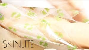 <b>Отшелушивающая маска</b>-носки для ног Skinlite - YouTube