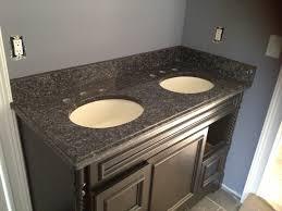 Bathroom Vanity Granite Blue Pearl Granite Vanity Top Not Sure I Like Dark Cabinets With