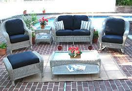wicker patio furniture. 4 Piece Laguna Beach Resin Wicker Patio Furniture With Love Seat,