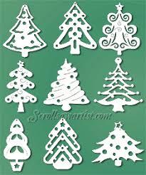 Free Scroll Saw Christmas Tree Ornament Patterns Plans DIY Free .