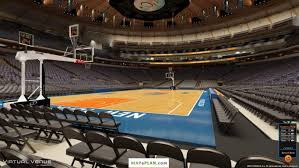 madison square garden seating chart view from section 03