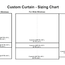 Curtain Sizes Width Cooksscountry Com