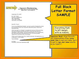 parts of a business letter block style 11