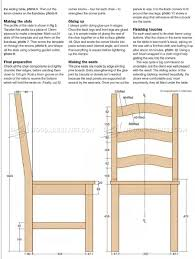 Pine Dining Table and Chairs Plans ...