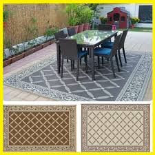 indoor outdoor patio mat rv 9 x12 reversible camping picnic carpet deck rug pad for