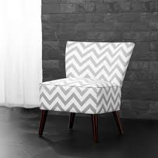 gray and white accent chair.  Chair Dorel Living Chevron GrayWhite Accent Chair To Gray And White O