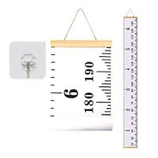 bingolar kids canvas height growth chart art hanging rulers for kids bedroom nursery wall decor removable on wall art hanging height with amazon bingolar kids canvas height growth chart art hanging